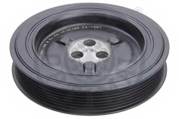 Ременный шкив коленвала OPTIMAL F8-7651 - изображение