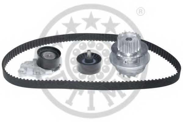 Водяной насос + комплект зубчатого ремня OPTIMAL SK-1273AQ1 - изображение 1
