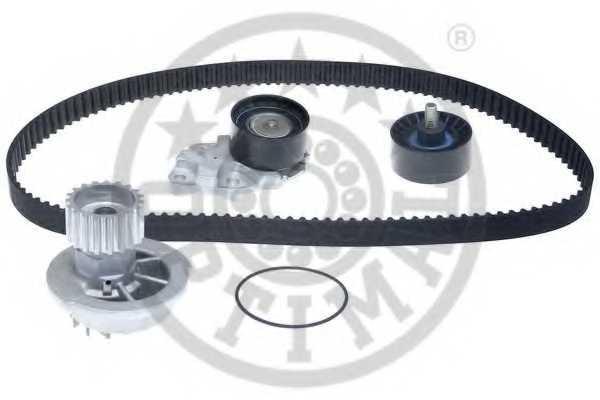 Водяной насос + комплект зубчатого ремня OPTIMAL SK-1273AQ2 - изображение 1