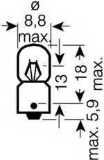 Лампа накаливания OSRAM 3797 - изображение 1
