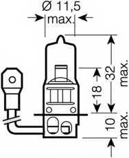 Лампа накаливания OSRAM 62201SBP - изображение