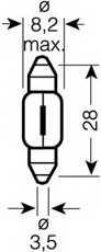 Лампа накаливания OSRAM 6430 - изображение