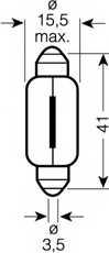 Лампа накаливания OSRAM 6476 - изображение