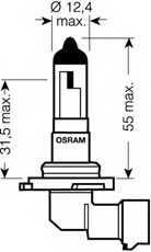Лампа накаливания OSRAM H10 / 9145RD - изображение 1