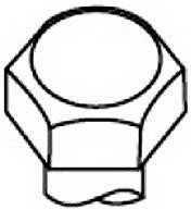 Комплект болтов головки цилидра PAYEN HBS008 - изображение
