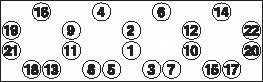 Комплект болтов головки цилидра PAYEN HBS011 - изображение