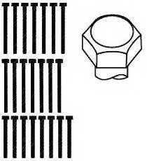 Комплект болтов головки цилидра PAYEN HBS015 - изображение 1