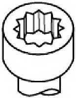 Комплект болтов головки цилидра PAYEN HBS249 - изображение