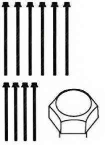 Комплект болтов головки цилидра PAYEN HBS279 - изображение 1