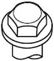 Комплект болтов головки цилидра PAYEN HBS377 - изображение