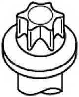 Комплект болтов головки цилидра PAYEN HBS474 - изображение