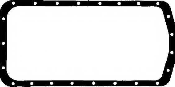 Прокладка, масляный поддон PAYEN JJ283 - изображение