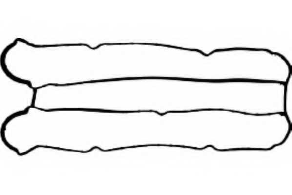 Прокладка крышки головки цилиндра PAYEN JM5155 - изображение