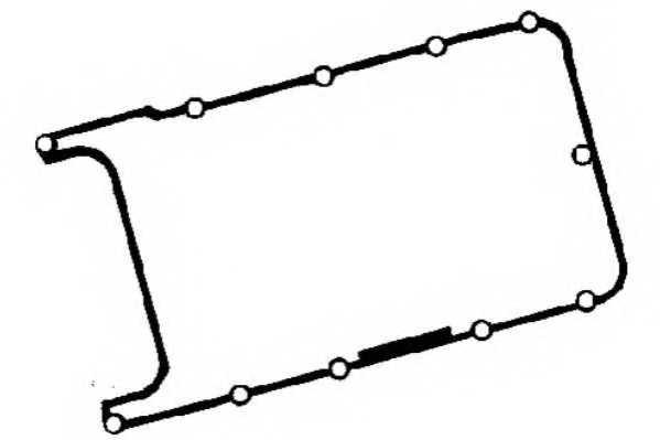 Прокладка крышки головки цилиндра PAYEN JM7045 - изображение
