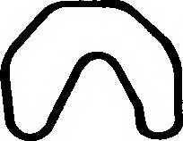 Прокладка крышки головки цилиндра PAYEN JN322 - изображение