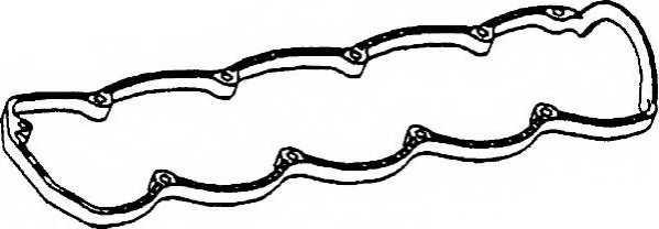 Прокладка крышки головки цилиндра PAYEN JN594 - изображение