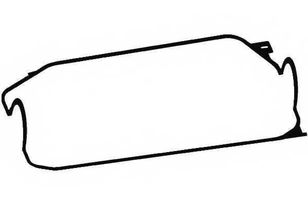 Прокладка крышки головки цилиндра PAYEN JN679 - изображение
