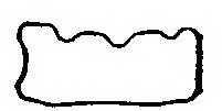 Прокладка крышки головки цилиндра PAYEN JN713 - изображение