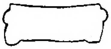 Прокладка крышки головки цилиндра PAYEN JN904 - изображение