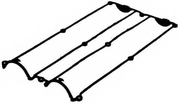 Прокладка крышки головки цилиндра PAYEN JN950 - изображение