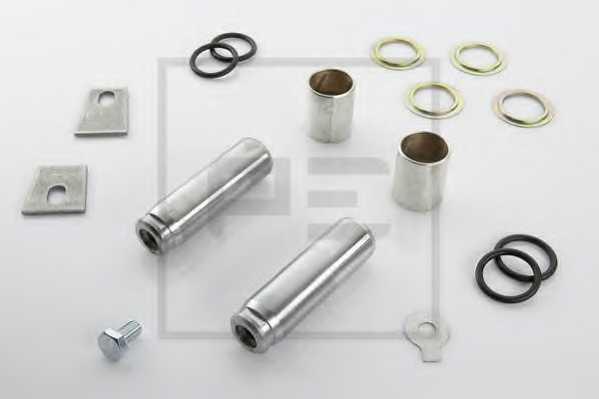 пальцевой комплект тормозных колодок PE Automotive 016.116-00A - изображение