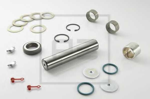 Ремкомплект шкворня поворотного кулака PE Automotive 031.115-00A - изображение