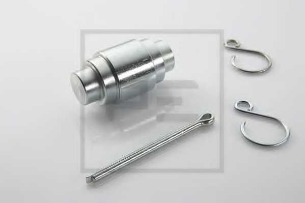 ремонтный комплект, ролик тормозных колодок PE Automotive 046.098-10A - изображение