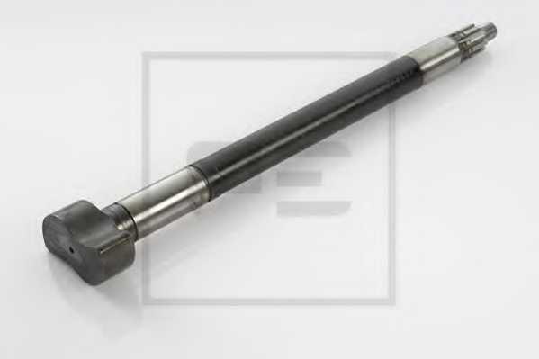 Тормозной вал, барабанный тормозной механизм PE Automotive 046.268-20A - изображение