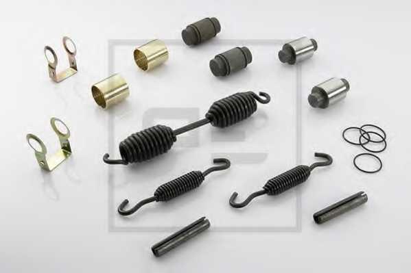 пальцевой комплект тормозных колодок PE Automotive 266.689-00A - изображение