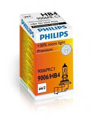 PHILIPS 9006PRC1 - лампа HB4 (9006) 12V 60W P22d (серия Vision) - изображение 1