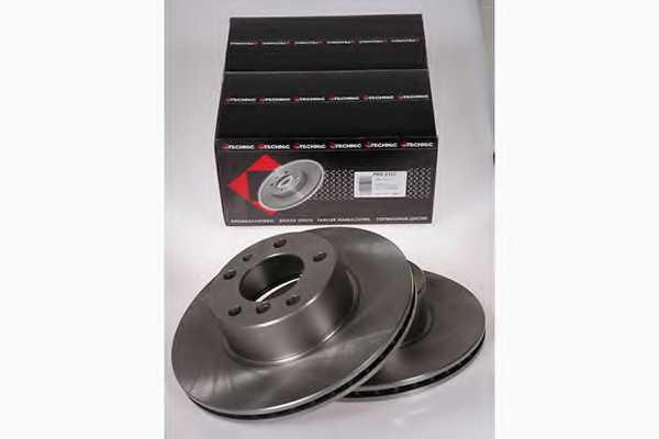 Тормозной диск PROTECHNIC PRD2127 - изображение