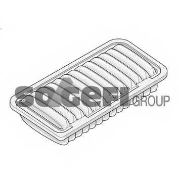 Фильтр воздушный PURFLUX A1262 - изображение 1
