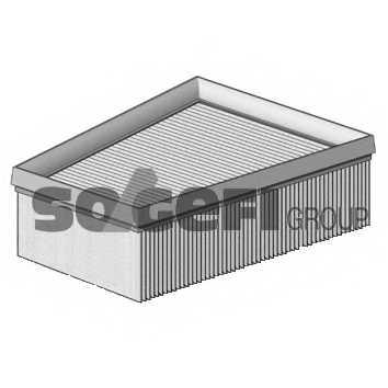 Фильтр воздушный PURFLUX A1268 - изображение 1