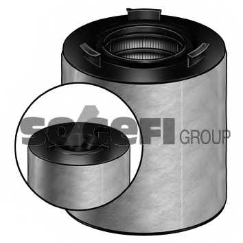 Фильтр воздушный PURFLUX A1344 - изображение 1