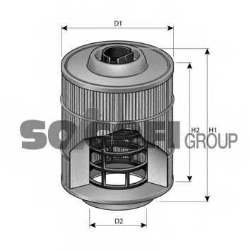 Фильтр воздушный PURFLUX A1399 - изображение 1