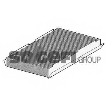 Фильтр салонный PURFLUX AH266 - изображение 1