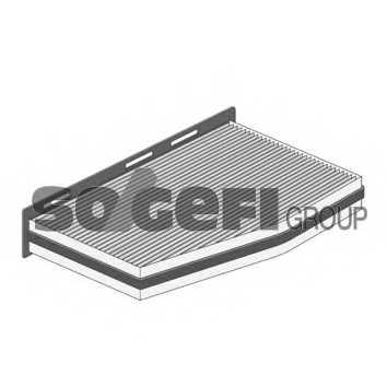 Фильтр салонный PURFLUX AHC378 - изображение 1