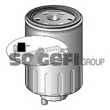 Фильтр топливный PURFLUX CS436 - изображение 1