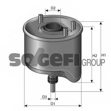 Фильтр топливный PURFLUX CS762 - изображение 1