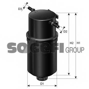 Фильтр топливный PURFLUX FCS806 - изображение 1