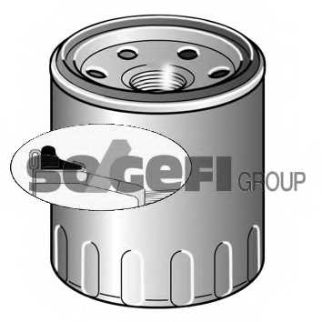 Фильтр масляный PURFLUX LS981 - изображение 1