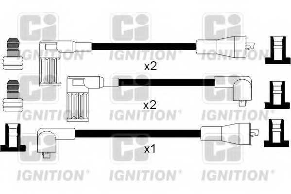 Комплект проводов зажигания QUINTON HAZELL XC182 - изображение