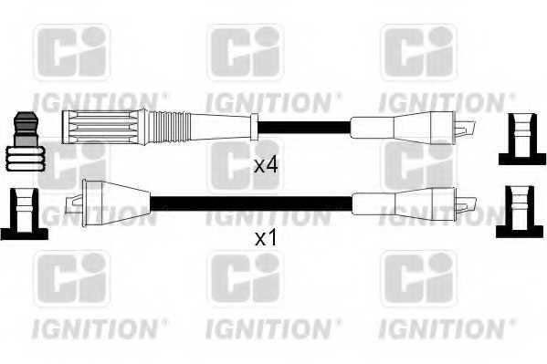 Комплект проводов зажигания QUINTON HAZELL XC368 - изображение