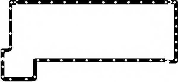 Комплект прокладок маслянного поддона REINZ 10-25113-01 - изображение