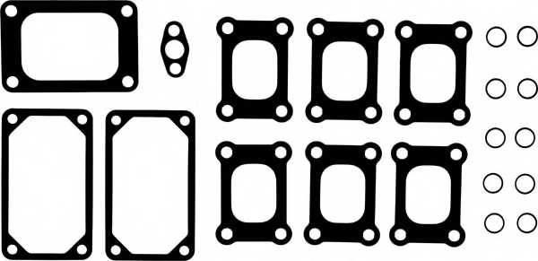 Комплект прокладок впускного / выпускного коллектора REINZ 11-33889-02 - изображение