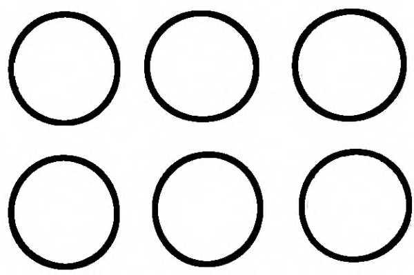 Комплект прокладок впускного коллектора REINZ 11-37133-01 - изображение