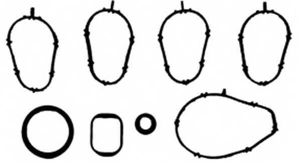 Комплект прокладок впускного коллектора REINZ 11-37303-01 - изображение