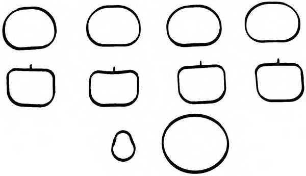 Комплект прокладок впускного коллектора REINZ 11-37648-01 - изображение