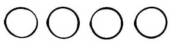 Комплект прокладок впускного коллектора REINZ 11-77542-01 - изображение
