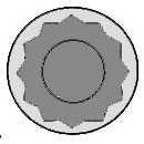 Комплект болтов головки цилидра REINZ 14-32069-01 - изображение